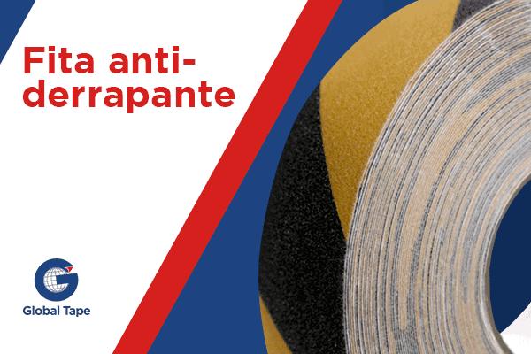 Fita Antiderrapante - Global Tape Fitas Adesivas